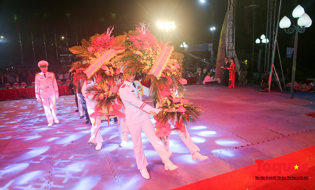 Chùm ảnh: Lễ xuất quân Đoàn Thể thao Việt Nam tham dự SEA Games 30 - Ảnh 3.