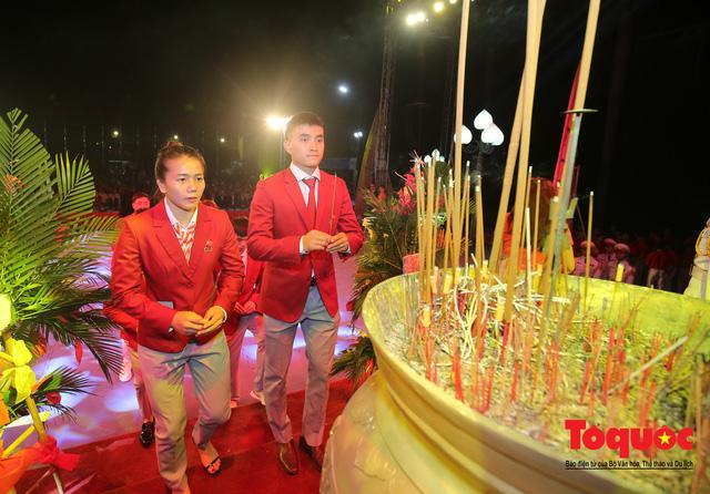 Chùm ảnh: Lễ xuất quân Đoàn Thể thao Việt Nam tham dự SEA Games 30 - Ảnh 5.