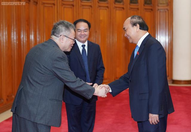 Thủ tướng tiếp đoàn Hội đồng Giám mục Việt Nam  - Ảnh 1.