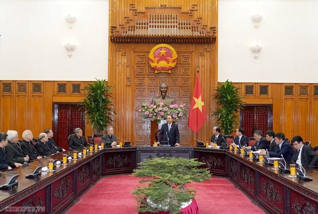 Thủ tướng tiếp đoàn Hội đồng Giám mục Việt Nam  - Ảnh 3.