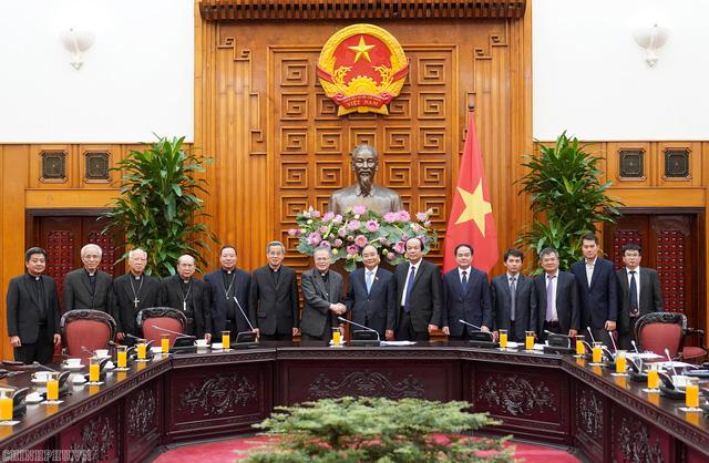 Thủ tướng tiếp đoàn Hội đồng Giám mục Việt Nam  - Ảnh 2.