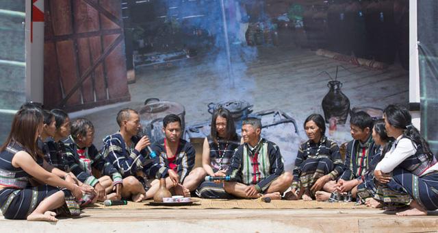 Phục dựng Lễ cưới truyền thống của dân tộc K'Ho - Ảnh 1.