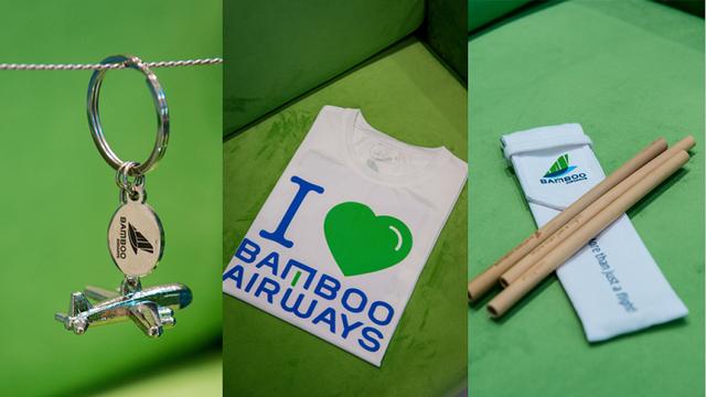"""Lạc vào """"vũ trụ xanh"""" cùng những món đồ lưu niệm tại Phòng vé Bamboo Airways 30 Tràng Tiền - Ảnh 6."""