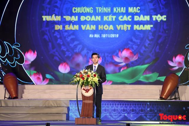 """Hình ảnh ấn tượng trong lễ khai mạc Tuần """"Đại đoàn kết các dân tộc - Di sản Văn hoá Việt Nam"""" năm 2019 - Ảnh 4."""