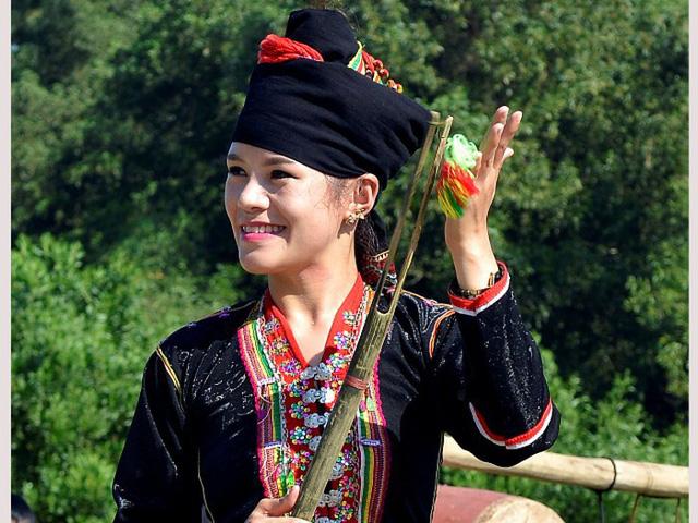 19 nghệ nhân của Điện Biên và Nghệ An đến Hà Nội trình diễn âm nhạc của người Khơ Mú - Ảnh 1.