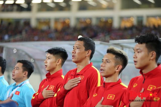 Lãnh đạo Đảng và Nhà nước dự khán trận Việt Nam - Thái Lan vòng loại thứ 2 Word Cup 2022 - Ảnh 5.