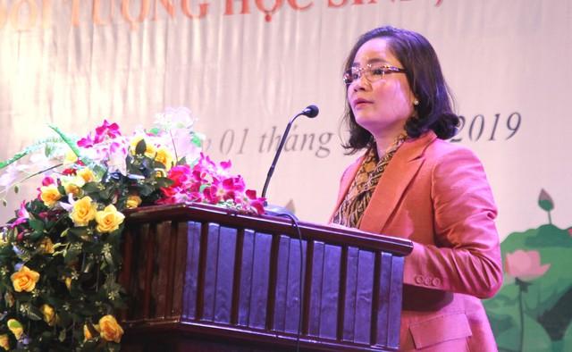 Thứ trưởng Bộ VHTTDL Trịnh Thị Thủy đề nghị đẩy mạnh công tác phòng, chống ma túy trong học đường - Ảnh 1.