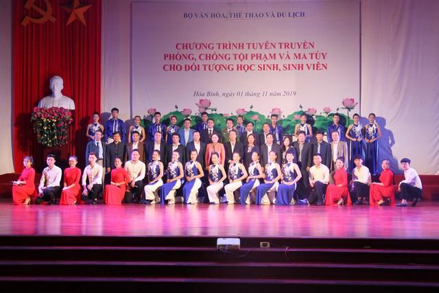 Thứ trưởng Bộ VHTTDL Trịnh Thị Thủy đề nghị đẩy mạnh công tác phòng, chống ma túy trong học đường - Ảnh 3.