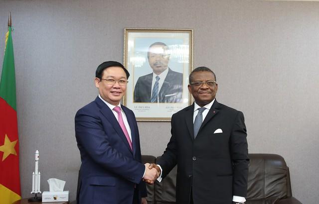 Thủ tướng Cameroon Joseph Dion Ngute đánh giá tăng trưởng của Việt Nam là kỳ tích  - Ảnh 1.