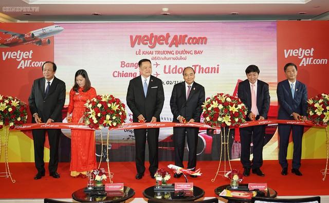 Thủ tướng dự khai trương đường bay mới của Vietnam Airlines và Vietjet tại Thái Lan - Ảnh 2.