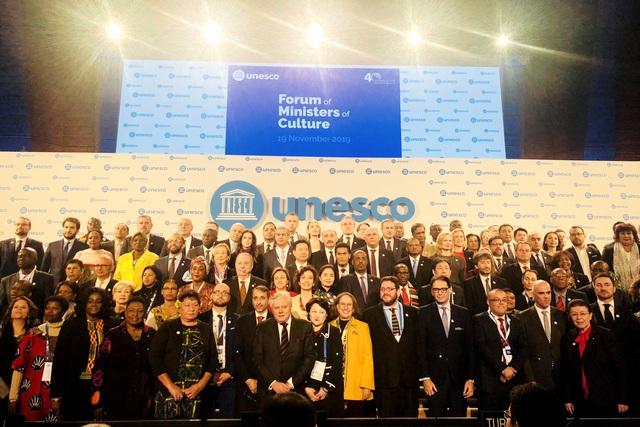 Diễn đàn Bộ trưởng Văn hoá UNESCO - Ảnh 2.