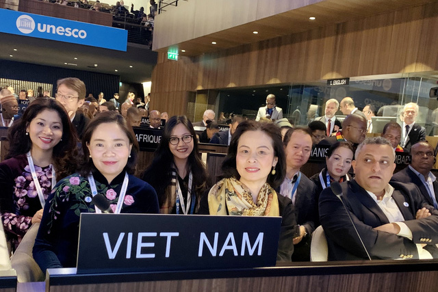 Diễn đàn Bộ trưởng Văn hoá UNESCO - Ảnh 1.
