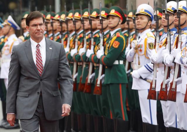Việt Nam lên tiếng về kế hoạch hợp tác Việt - Mỹ sau chuyến thăm của Bộ trưởng Quốc phòng Esper - Ảnh 1.