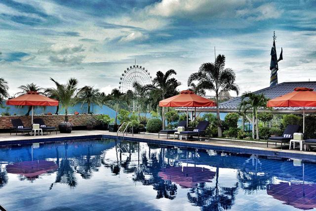 Khách sạn Jen Manila, nơi đóng quân của U22 Việt Nam dự SEA Games 30 - Ảnh 2.