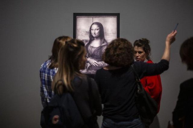 Đấu giá bản sao bức chân dung Mona Lisa - Ảnh 1.