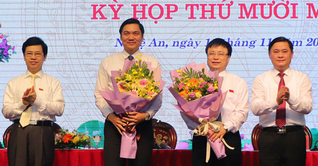 Nghệ An chính thức có hai Phó Chủ tịch UBND tỉnh - Ảnh 1.