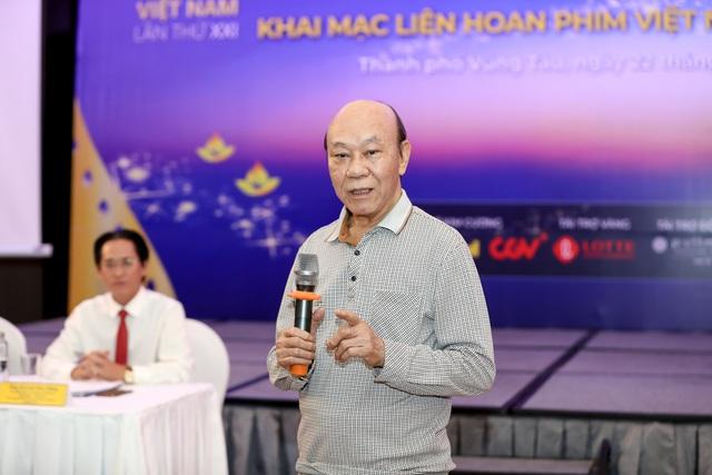 Dàn giám khảo xuất hiện trong họp báo Liên hoan phim Việt Nam lần thứ XXI tại Vũng Tàu - Ảnh 5.