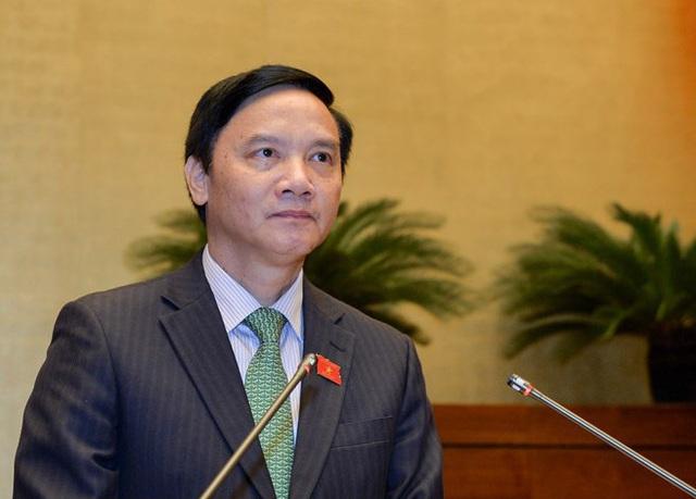 Quốc hội miễn nhiệm ông Nguyễn Khắc Định - Ảnh 1.