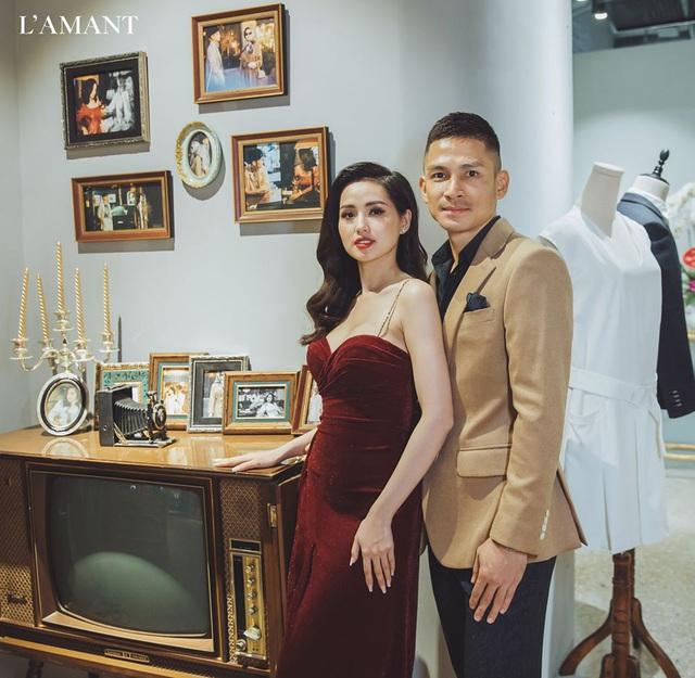Hồ Ngọc Hà và Kim Lý bắt gặp đi thử áo cưới ở wedding L'amant - Ảnh 6.