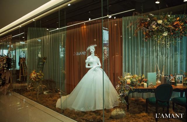 Lệ Quyên bất ngờ trình diễn thời trang tại show thời trang áo cưới L'amant - Ảnh 12.