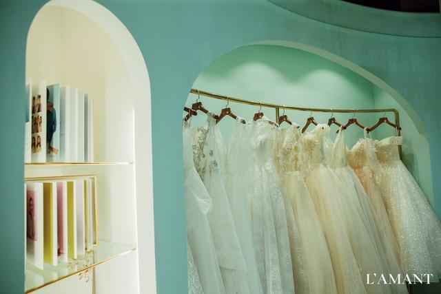 Lệ Quyên bất ngờ trình diễn thời trang tại show thời trang áo cưới L'amant - Ảnh 13.