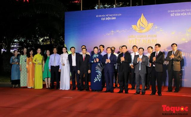 Toàn cảnh lễ Khai mạc Liên hoan phim Việt Nam lần thứ XXI tại Vũng Tàu - Ảnh 5.