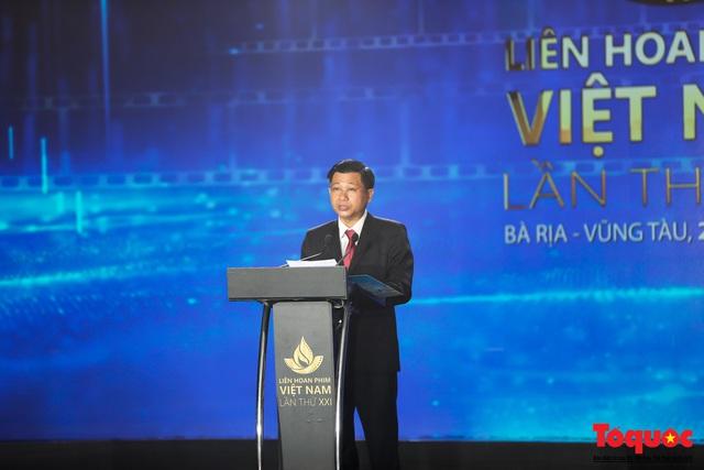 Toàn cảnh lễ Khai mạc Liên hoan phim Việt Nam lần thứ XXI tại Vũng Tàu - Ảnh 4.