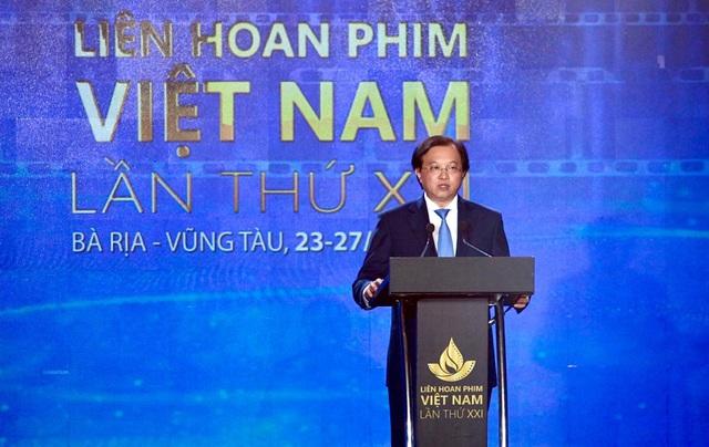 Khai mạc Liên hoan phim Việt Nam lần thứ XXI: Tôn vinh sắc màu điện ảnh - Ảnh 1.