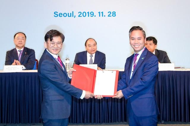 Bamboo Airways khai trương 3 đường bay đến Hàn Quốc dưới sự chứng kiến của Thủ tướng Chính phủ Việt Nam và Phó Thủ tướng Hàn Quốc - Ảnh 2.