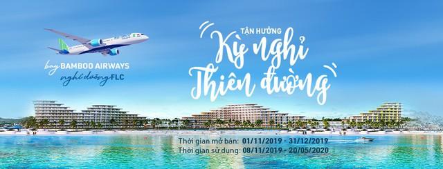 Tận hưởng kì nghỉ thiên đường cùng combo bay - nghỉ dưỡng của Bamboo Airways - Ảnh 1.