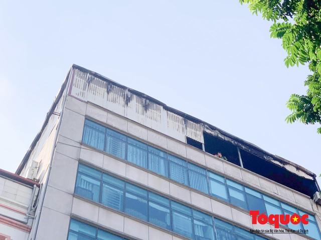 Hà Nội: Cháy chung cư mini trên phố Trung Kính - Ảnh 6.