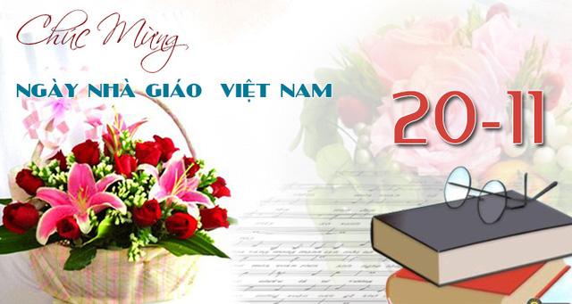 Sở Giáo dục TP.HCM không nhận hoa, quà chúc mừng Ngày Nhà giáo Việt Nam - Ảnh 1.