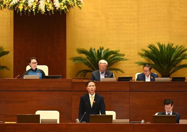 Chủ tịch Quốc hội, đại biểu đánh giá cao phần trả lời của Bộ trưởng Công Thương Trần Tuấn Anh  - Ảnh 1.
