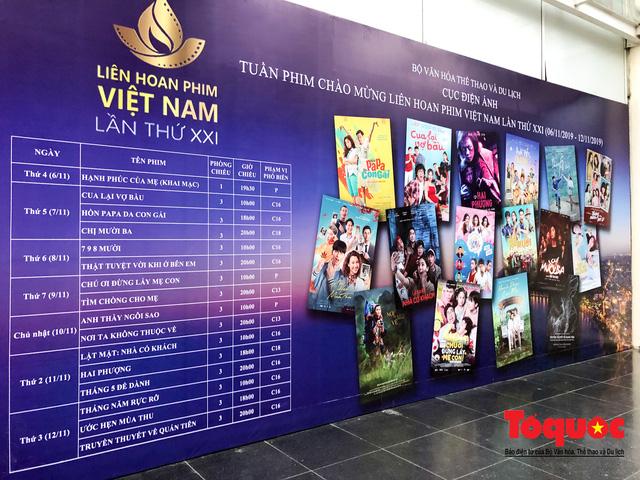 Khai mạc Tuần phim Chào mừng Liên hoan phim Việt Nam lần thứ XXI  - Ảnh 4.