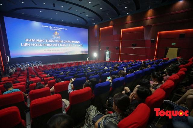 Khai mạc Tuần phim Chào mừng Liên hoan phim Việt Nam lần thứ XXI  - Ảnh 10.