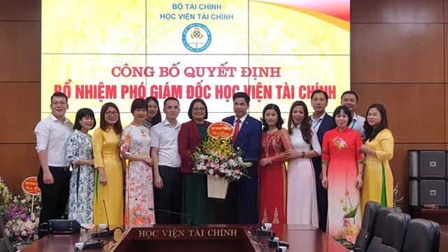 TS. Nguyễn Đào Tùng được bổ nhiệm làm Phó Giám đốc Học viện Tài chính - Ảnh 1.