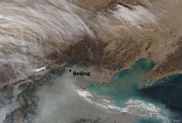 """Hình ảnh hé lộ tại sao không khí New Delhi nhiễm độc nặng nề còn Bắc Kinh lại sắp thoát mác """"thủ đô ô nhiễm toàn cầu"""" - Ảnh 2."""