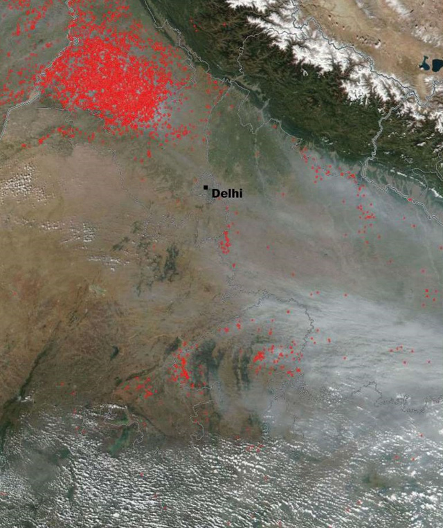 """Hình ảnh hé lộ tại sao không khí New Delhi nhiễm độc nặng nề còn Bắc Kinh lại sắp thoát mác """"thủ đô ô nhiễm toàn cầu"""" - Ảnh 3."""