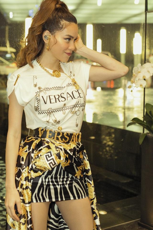 Hồ Ngọc Hà đụng hàng váy hiệu siêu mẫu Gigi Hadid - Ảnh 5.