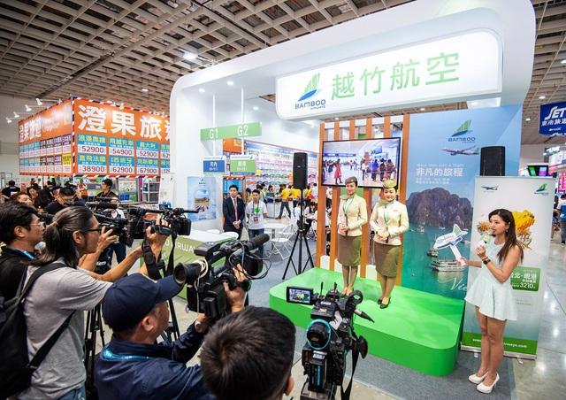 Sức hút nổi bật của Bamboo Airways tại Hội chợ Du lịch quốc tế Đài Bắc 2019 - Ảnh 1.