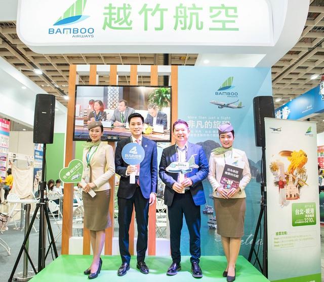 Sức hút nổi bật của Bamboo Airways tại Hội chợ Du lịch quốc tế Đài Bắc 2019 - Ảnh 2.