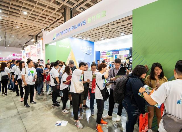 Sức hút nổi bật của Bamboo Airways tại Hội chợ Du lịch quốc tế Đài Bắc 2019 - Ảnh 3.