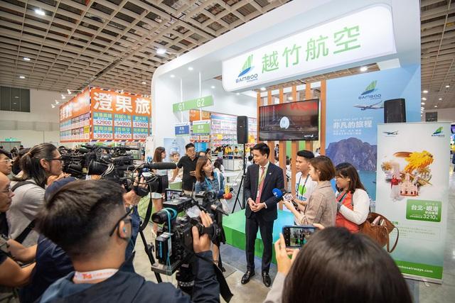 Sức hút nổi bật của Bamboo Airways tại Hội chợ Du lịch quốc tế Đài Bắc 2019 - Ảnh 6.