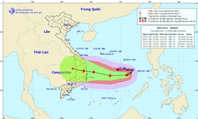 Cập nhật tin bão số 6: Thủ tướng chỉ đạo ứng phó khẩn cấp  - Ảnh 1.