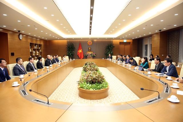 Phó Thủ tướng tiếp Đoàn đánh giá đa phương về chống rửa tiền  - Ảnh 2.