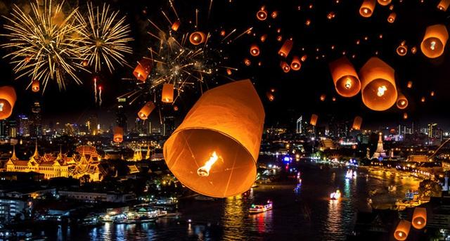 Thái Lan hủy gần 100 chuyến bay trong thời gian diễn ra Lễ hội thả đèn hoa đăng Loy Krathong 2019 - Ảnh 1.