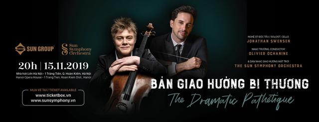Nghệ sĩ cello tài năng của Đan Mạch Jonathan Swensen sẽ biểu diễn tại Việt Nam - Ảnh 1.