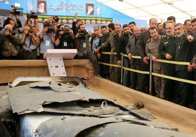 Iran bắn hạ thêm một máy bay không người lái - Ảnh 1.