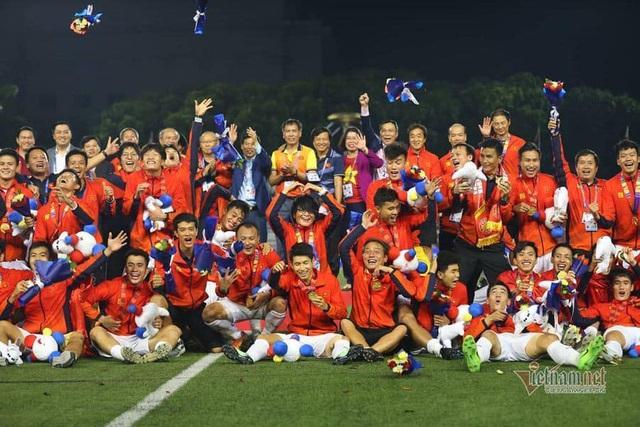 U22 Việt Nam chia sẻ xúc động về HCV lịch sử tại Sea Games - Ảnh 1.