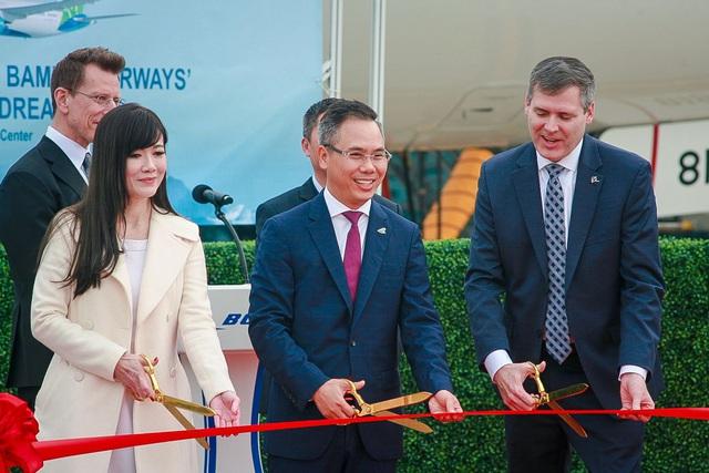 Máy bay Boeing 787-9 Dreamliner đầu tiên cất cánh về với đội bay của Bamboo Airways - Ảnh 2.